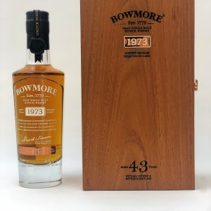 Bowmore 43 year old 1973