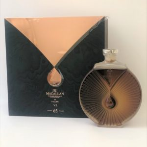 Macallan 65 year old Lalique