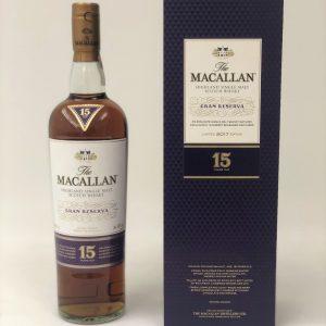 Macallan Gran reserva 15 year old