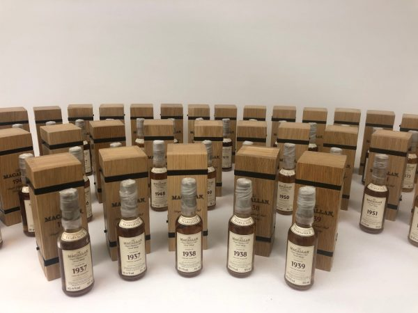 Macallan Fine & Rare miniature collection