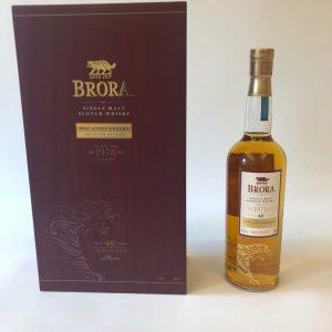 Brora 40 Year Old 200th Anniversary